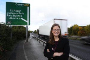 Laura Crowe, Caulmert Senior Air Quality Consultan